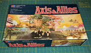 Milton Bradley Vintage 1984 Axis And Allies Spring 1942 Board Game - Ships Fast