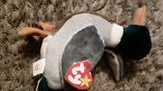 Ty Beanie Baby Jake The Mallard Drake Duck, 1997 Undamaged Tags And Clean Fabric