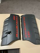 08-13 Corvette 6.2 Ls3 Dry Sump Engine Covers Left And Right