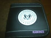 Ramones Cd Wallet Holds 24 Cds Or Dvds