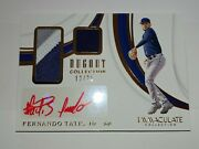 2019 Immaculate 12/25 Fernando Tatis Jr 3 Color Patch Auto Dugout Collection Rc