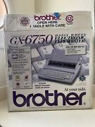 Brother Gx-6750 Daisywheel Electronic Typewriter With Box And Extra Ribbon