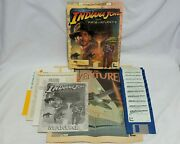 Indiana Jones And The Fate Of Atlantis Amiga Game Lucasarts Indy Iv 1992 Us Ver.