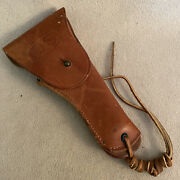 Vintage Wwii Era Us Army Leather Holster Colt .45 Boyt 44 Leather
