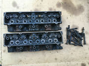 Oldsmobile 5a 307 Heads With Head Bolts Valves Springs Retainers Locks