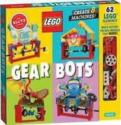 Lego Gear Bots By Editors Of Klutz 9781338603453 | Brand New | Free Us Shipping
