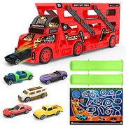 Mihui Toy Cars Trucks For 1 2 3 4 5 6 Year Old Boys Gifts, Die Cast Metal Toy