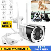 Motion Detect Wifi Security Camera 1080p 110anddegwide Angle Two-way Audio Home