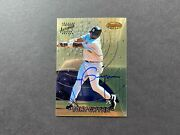 1997 Bowmanand039s Best Autograph Tony Gwynn 29 Certified On Card