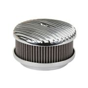 Otb Gear 4450 Full Fin Air Cleaner, Straight Base, Polished
