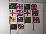 14x 25/28mm British Napoleonic Flags 7x Sets 5th 27th 32nd 60th 68th 71st 95th