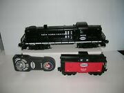 Lionel Nyc Lionchief Rs-3 Diesel And Caboose W/ Controller Lot 21285