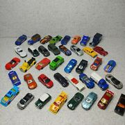 Lot Of 40 Hot Wheels Die Cast Cars And Vehicles