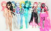 Lot 10 Monster High Dolls 7 Are 2008 Catty Noir 13 Wishes