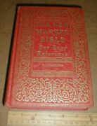 Vtg The New Marked Bible Easy Reference Deluxe Edition 1928 Book