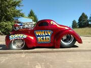 Muscle Machines 41 Willys Coupe Pro Touring 118 Custom Streetrod Willy The Kid