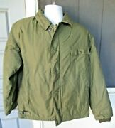 Us Army Navy Military Cold Weather Permeable Jacket 845-00-753-5613 Large 42-44