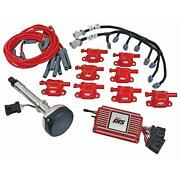 Msd 60151 Direct Ignition System Kit, Sbc/bbc, Red