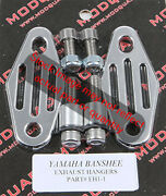 Modquad Front Exhaust Hangers Straight For Yamaha Banshee