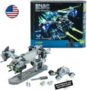 Snap Ships Gladius Ac-75 Drop Ship -- Construction Toy For Custom Building And B