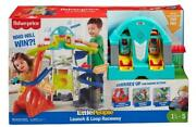 Little People Launch And Loop Raceway Light-up Vehicle Playset Vehicles Sounds