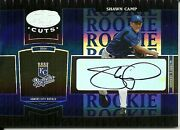 2004 Leaf Certified Cuts Marble Signature Blue Shawn Camp 295 Royals 46/75