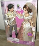 Disney Store Rapunzel And Eugene Classic Wedding Doll Set - Tangled Ever After