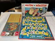 Vintage Milton The Monster Game Milton Bradley Complete Great Condition 1966