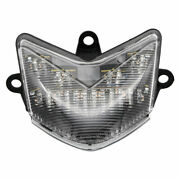 Bike It Motorcycle Led Tail Light With Lens And Indicators For Kawasaki Zx-10r