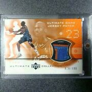 Upper Deck Jersey Patch Michael Jordan Ultimate Game Card From Japan F/s