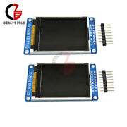 1/2/5pcs 1.8 Tft Full Color Lcd Display 128160 Serial Spi St7735s For Arduino