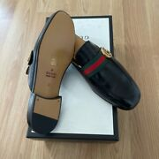 Leather Princetown Slipper With Double G
