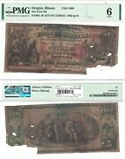 1875 5 First National Bank Of Oregon Il 1969 Pmg Good-6