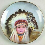Gregory Perillo Proud Young Spirits Collection 8 Plates 14 Firing Days 1990