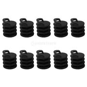 10pcs Nylon Kayak Marine Boat Scuppers Stoppers Bungs Drain Hole Plugs