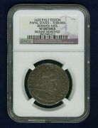 Italy Papal States - Ferrara 1620 Teston Silver Coin Certified Ngc Vf Details