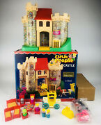 Mintvintage Fisher Price Little People 993 Play Family Castle Complete + Box