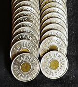 40 Garden State Parkway Bus Tokens On G S P Bus Fare Only Coin