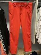 Lululemon Abc Stretch Athletic Chino Pants Men's Size 36r Red