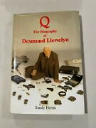 Q The Life Of Desmond Llewelyn [hardcover] Grant Sandy