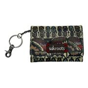 Sakroots Id Keychain Change Wallet Peace Multicolored Print