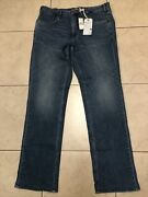 Tommy Bahamas Jeans Dallas Mens 38x35 1/2 New With Altered Inseam