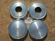 1990and039s Ford 1/2 Ton 4x4 Pickup Truck Van Dog Dish Hubcaps Set Of 4