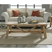 Harby Reclaimed Wood Rectangular Coffee Table In Rustic Tawny Rustic Tawny