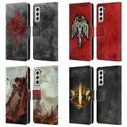 Ea Bioware Dragon Age 2 Graphics Leather Book Wallet Case For Samsung Phones 4