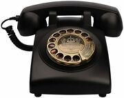 Antique Phones Corded Landline Telephone Vintage Classic Rotary Dial Home Phone