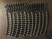 Lionel Trains G Gauge Track Lot Of 15 11 Curves And 4 Straight Polar Express