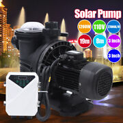 1.5hp Solar Swimming In/above Ground Spa Pool Pump Motor Strainer 1200w 110v