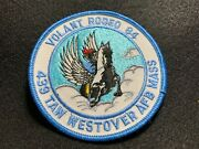 1984 Volant Rodeo 439 Taw Tactical Airlift Wing Westover Afb Patch