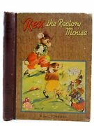 Rex The Rectory Mouse - Townsend, W. And Townsend, L. Illus. By Rice-jay, Vera